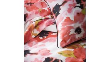 Parure de lit à fleurs