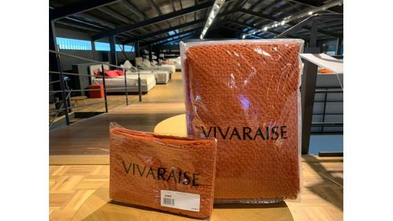 Parure de lit Vivaraise Terracotta