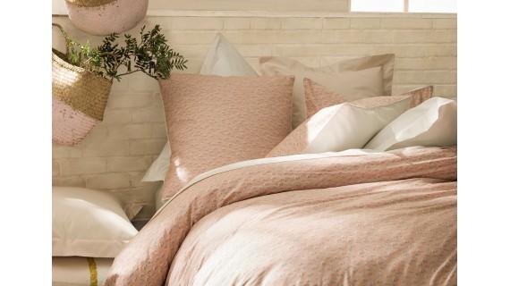 Parure de lit Essix - occitane rose