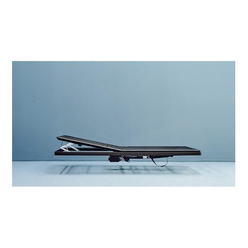 sommier m tallique auping avec un moteur pour relever le dos. Black Bedroom Furniture Sets. Home Design Ideas