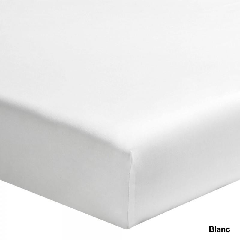 Ce drap housse blanc 100 coton prot gera et habillera for Drap housse en percale de coton