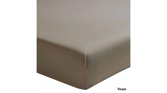 Drap housse ROYAL LINE Percale de coton - couleurs