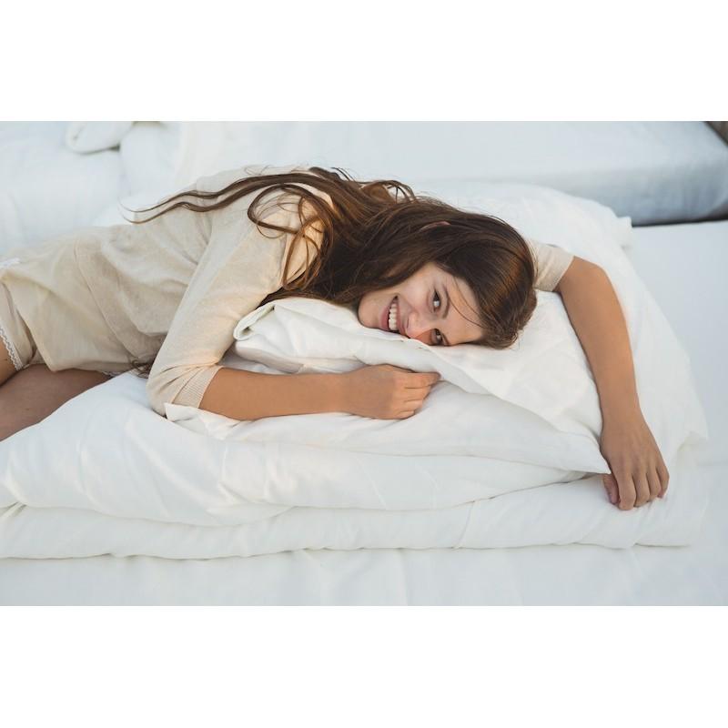taie d 39 oreiller en lin de la marque belge libeco mod le santiago. Black Bedroom Furniture Sets. Home Design Ideas