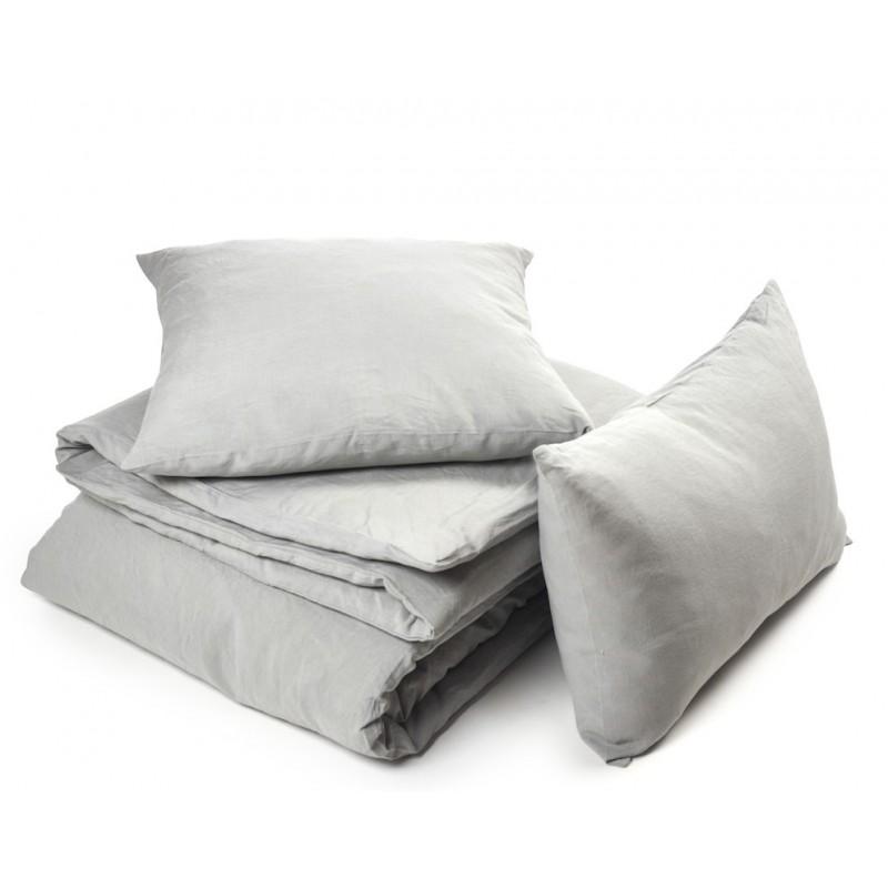 taie d 39 oreiller en lin heritage de la marque belge libeco. Black Bedroom Furniture Sets. Home Design Ideas