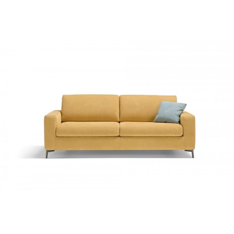 Canap lit lisbona confortable au design pur facile for Transformer un lit en canape