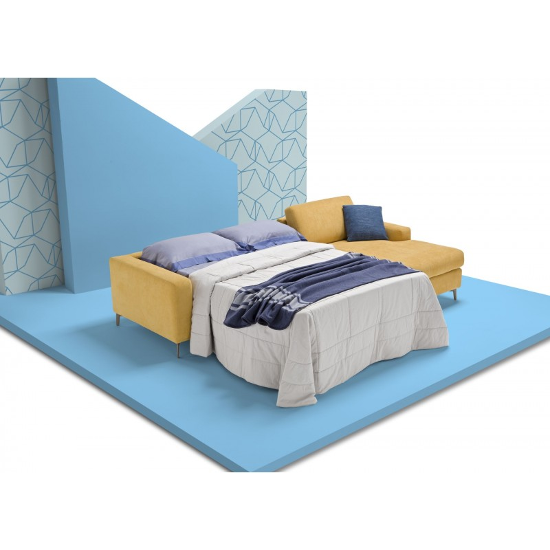 Canap lit lisbona confortable au design pur facile - Lit confortable design ...