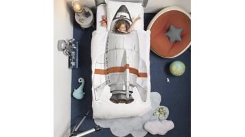 Housse de couette fusée pour enfant de la marque Snurk