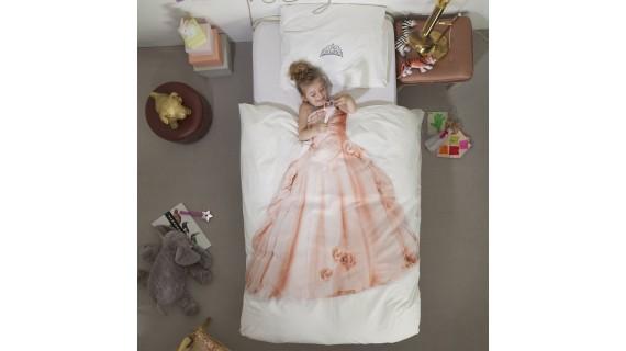 Housse de couette princesse pour fille de la marque Snurk