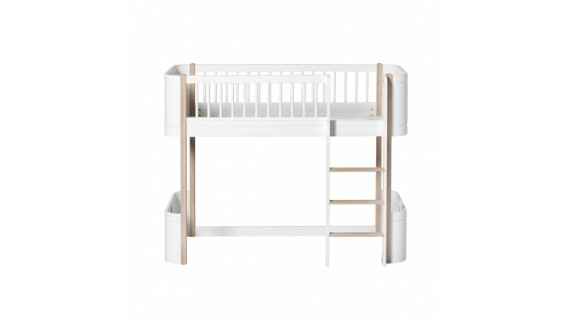 Lit évolutif Mini + pour enfant de la Oliver Furniture