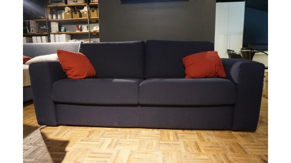 Canapé-lit bleu