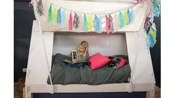 Lit enfant tente + tiroir-lit (Expo)