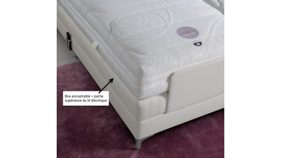 Boxspring encastrable velda - mini sommier tapissier