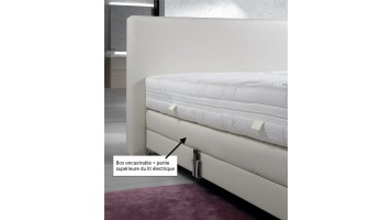 Boxspring encastrable