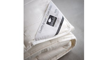 """Couette en laine certifiée """"Textile Biologique"""""""